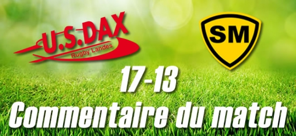 2016-2017 J29 : DAX - MONT-DE-MARSAN : Commentaire du match