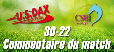 2016-2017 J18 : DAX - BOURGOIN : Commentaire du match