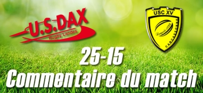 2016-2017 J27 : DAX - CARCASSONNE : Commentaire du match